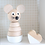 Thumbnail: Wooden stacking toy mouse