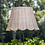 Thumbnail: Small Scalloped Rattan Lampshade