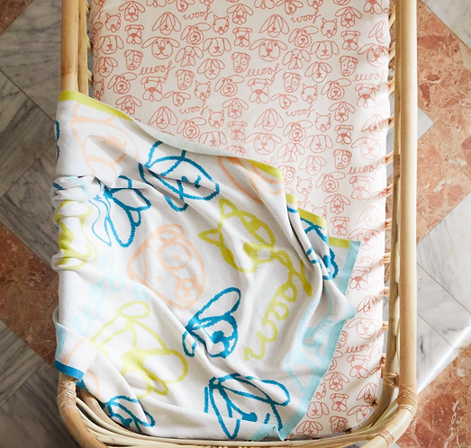 Sage & Clare Nino Baby Blanket