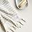 Thumbnail: Miss April Turkish Hand Towel - Pom Pom Pale Grey