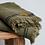 Thumbnail: Turkish Cotton Waffle Bath Towel - Olive