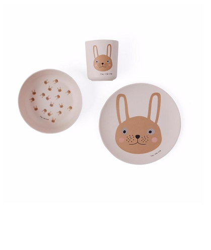 Oyoy Bamboo Dinnerware - Rabbit