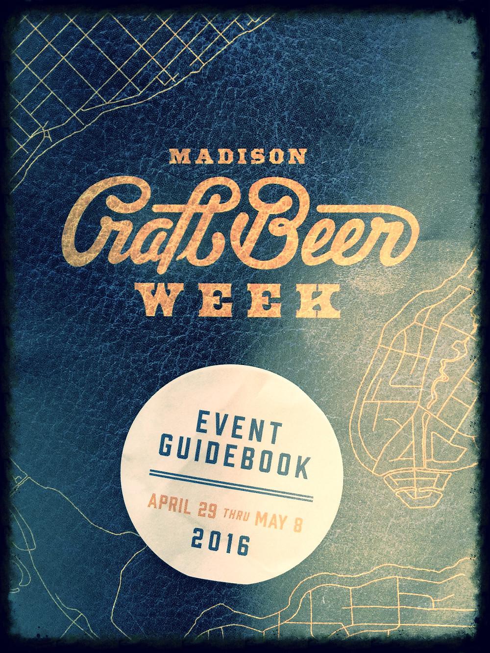 Madison Craft Beer Week Event Guidebook 2016