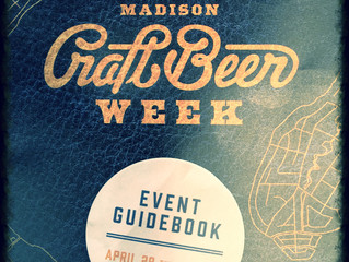 Madison, WI Craft Beer Week 2016