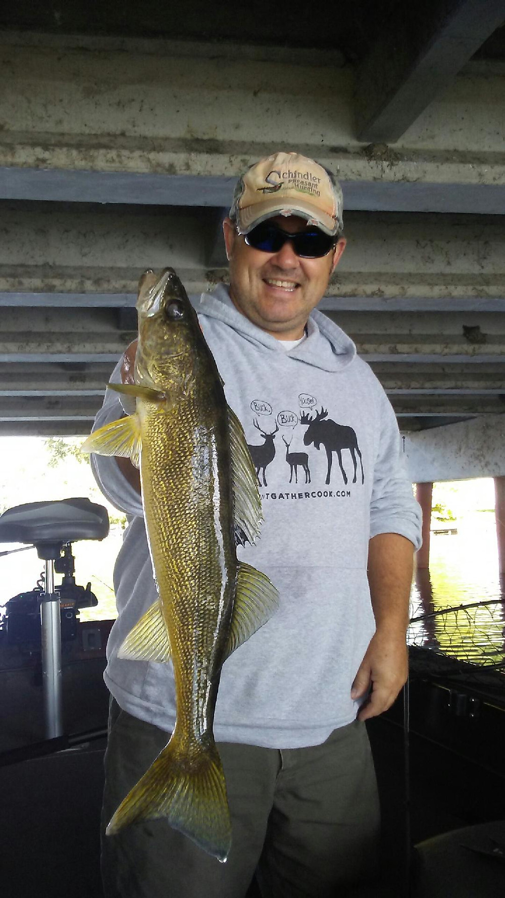 Madison, WI Guided Walleye Fishing Trips