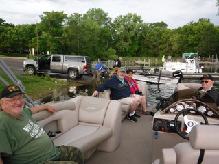 Take A Vet Fishing-Lake Waubesa