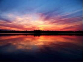 madison angling sunset