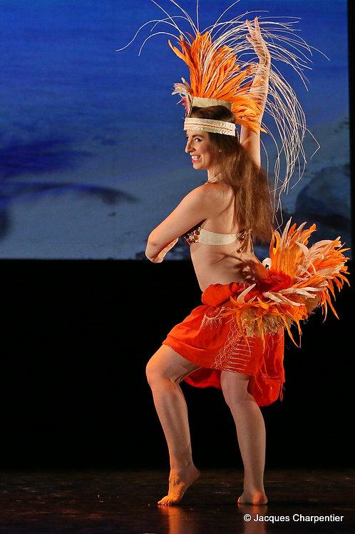 Danse tahitienne  Samedi 14 mars de 14h à 16h
