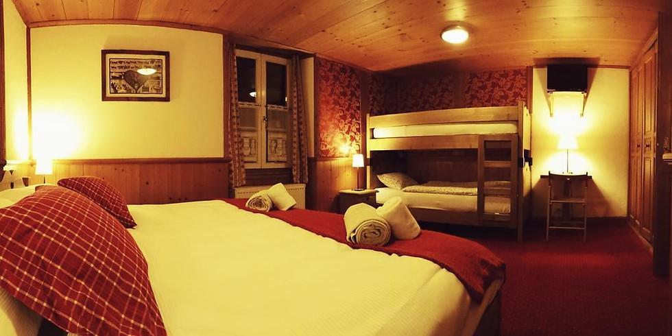 Réservation logement Pension complète Artistes Orient'Alp