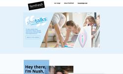 femfresh she talks page