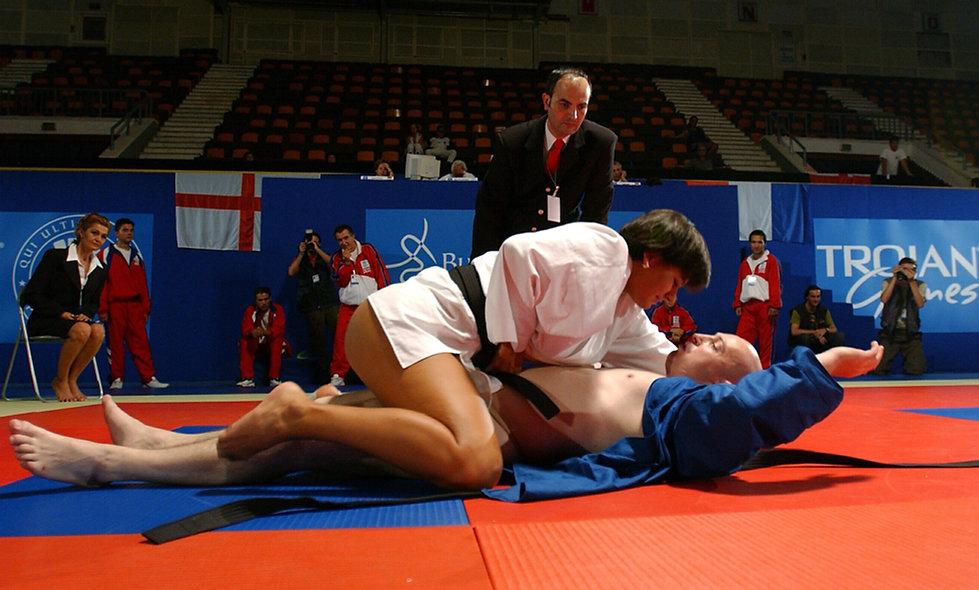 trojan judo move
