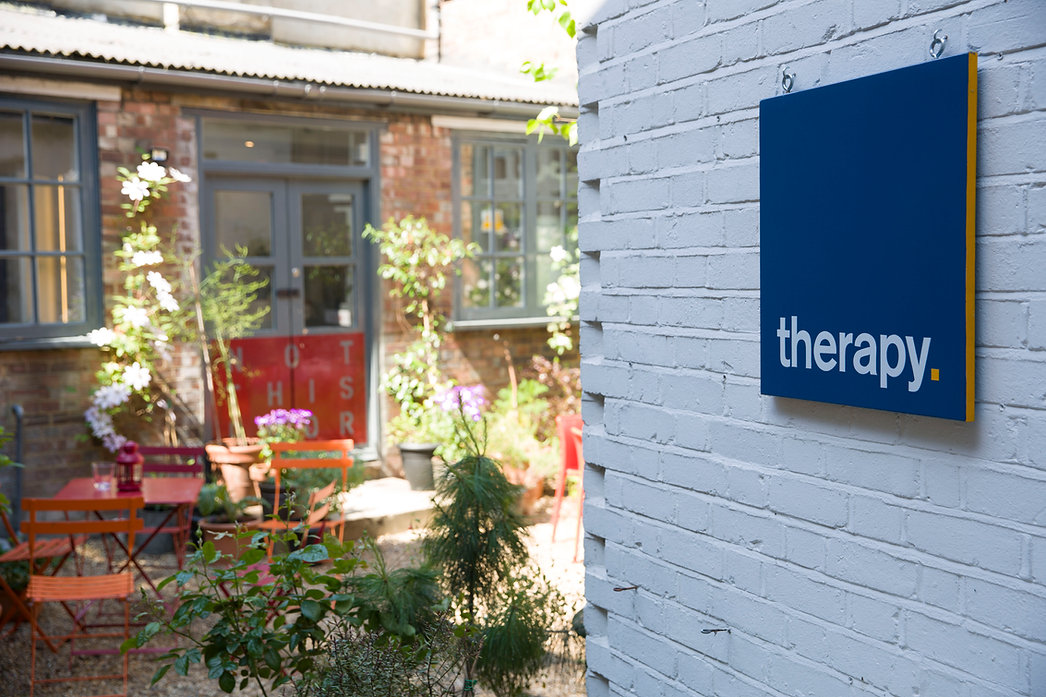 Therapy Sign & Garden.JPG