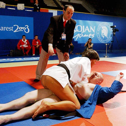 trojan games judo move