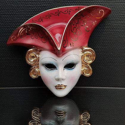 Masque en porcelaine - C341