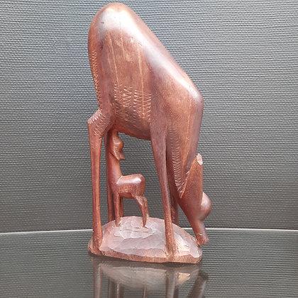 Statue en bois africain - C431