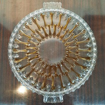 Plat en verre doublé - C112