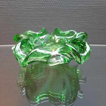 Vide poche cendrier en verre soufflé italien - C 188