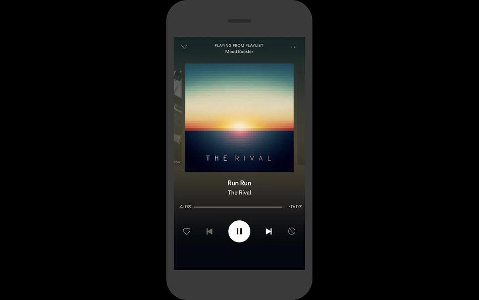Digital Audio advertising example