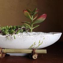モルタル植木鉢・インテリア