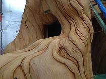 モルタル造形・擬木