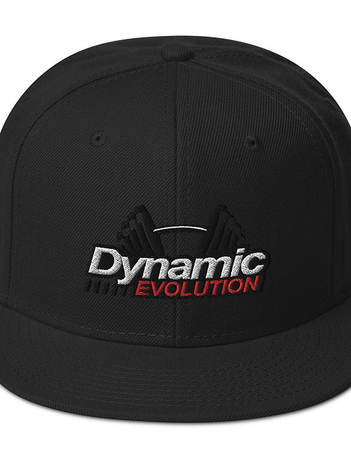 DE Logo Snapback Hat