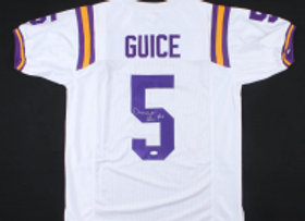 Signed Derrius Guice Jersey