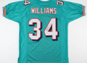 Signed Ricky Williams Jersey