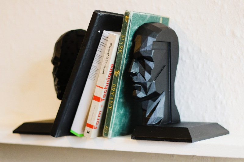 Bespoke Head Book Ends