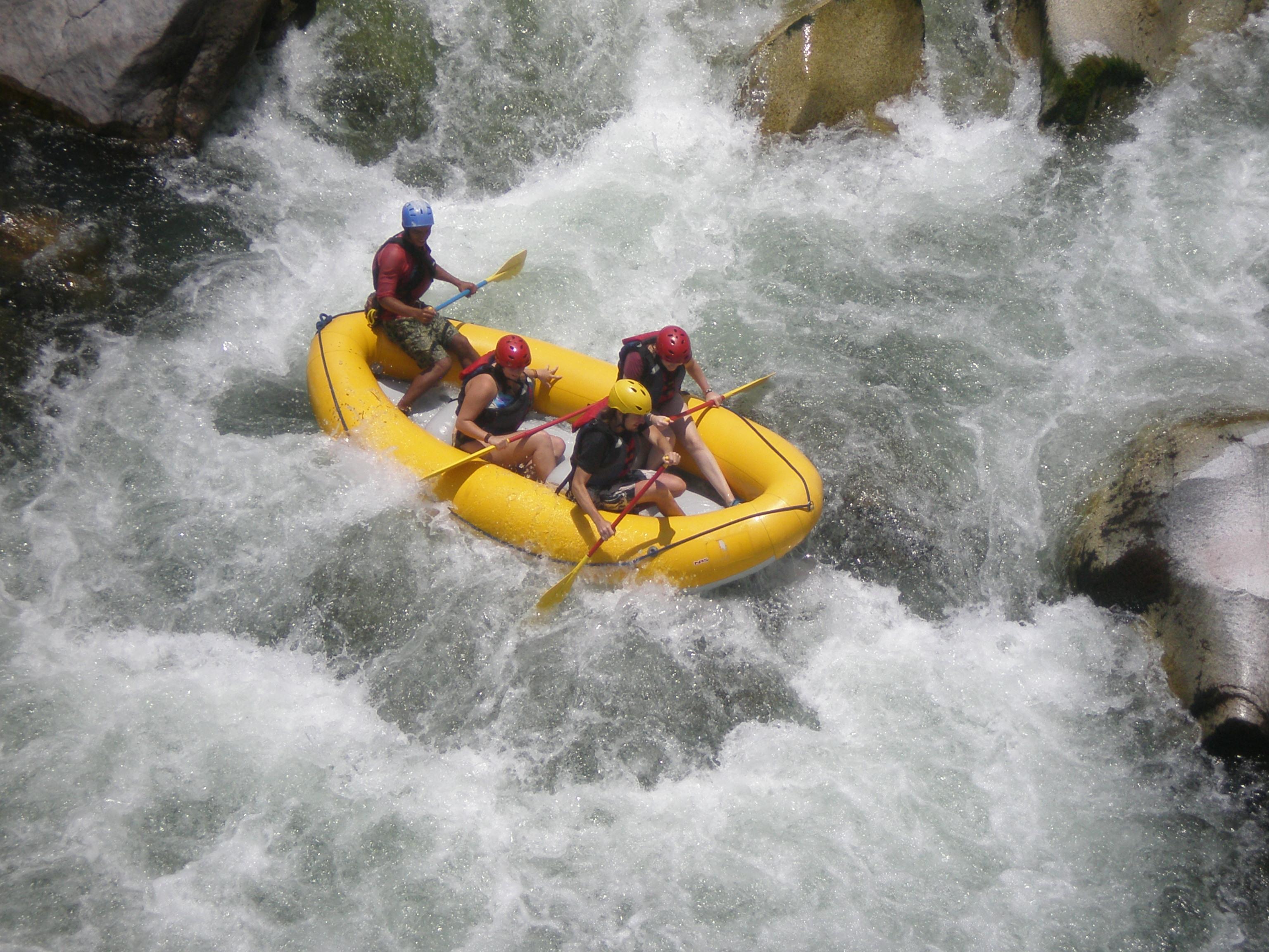 Rafting en Rio Cangrejal