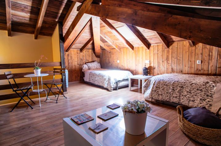 Dormitorio planta superior Casa 4