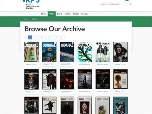 Kraliyet Fotoğraf Cemiyeti'nin 165 Yıllık Dergi Arşivi Ücretsiz Olarak Fotoğrafseverlere Sunuldu!