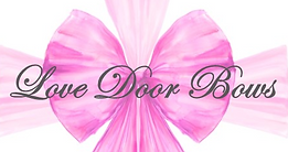 Love Door Bows for Luxury Door Decor