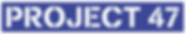 Project 47 logo