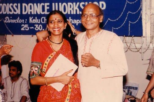 With Late Guru Kelucharan Mohapatra