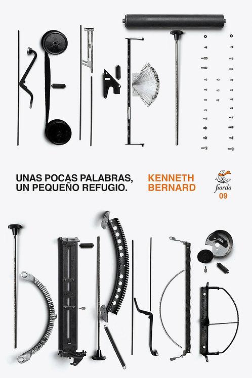 Unas pocas palabras, un pequeño refugio, de Kenneth Bernard