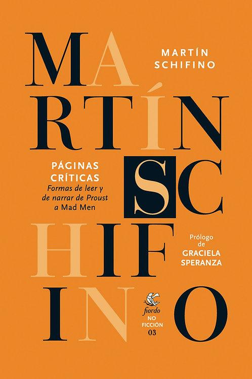 Páginas críticas, de Martín Schifino