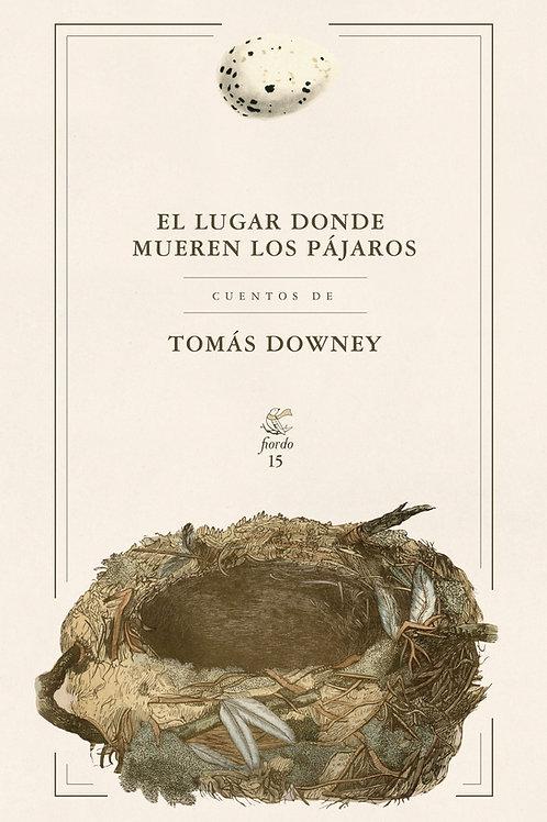 El lugar donde mueren los pájaros, de Tomás Downey
