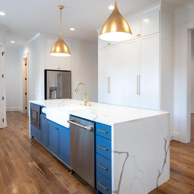Kitchen design by MPH for Gallup and LaFitte.