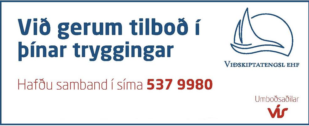 Viðskiptatengsl eru umboðsaðilar fyrir VÍS og VÍB
