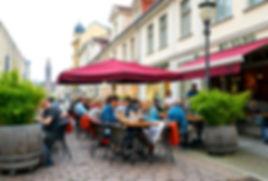 My Keng Terrasse auf der Brandenburger Straße