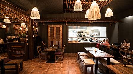 Viet Bowl Charlottenburg Location Küche Innenraum