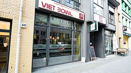 Viet Bowl Charlottenburg Location Küche Innenraum