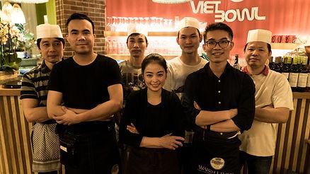 Viet Bowl Charlottenburg Teamfoto Berlin