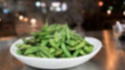 Viet Bowl Charlottenstraße Edamame Beans mit Salz