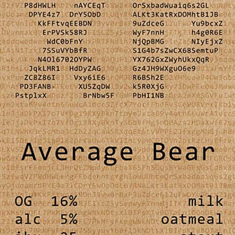 Average bear