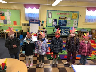 Happy Thanksgiving from Pre-K 1