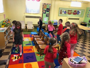 Wrapping up February in Pre-K 1
