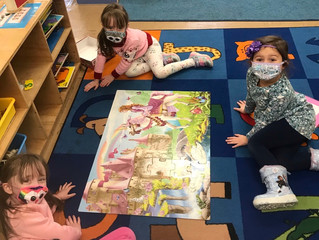 Celebrating love and friendship in Pre-K 2
