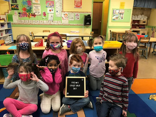 Welcoming March in Pre-K 2