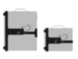 NOVO 15 & 22 Tripod Mounts with NOVO WN Detectors
